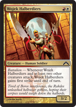 Wojek Halberdiers | Magic: The Gathering Card