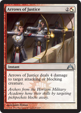 Arrows of Justice | Magic: The Gathering Card