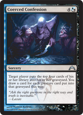 Coerced Confession | Magic: The Gathering Card