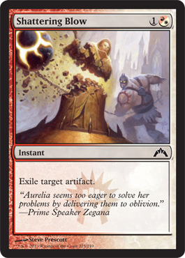 Shattering Blow | Magic: The Gathering Card