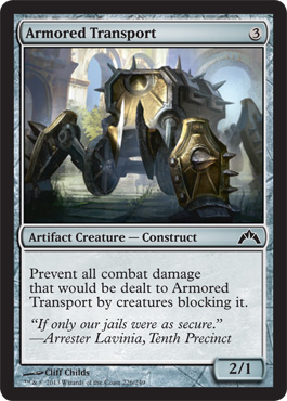 Armored Transport | Magic: The Gathering Card