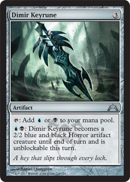 Dimir Keyrune | Magic: The Gathering Card