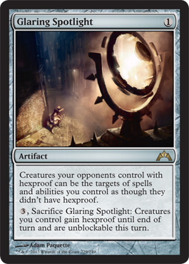 Glaring Spotlight | Magic: The Gathering Card