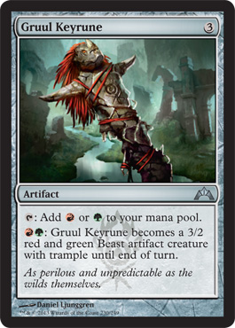 Gruul Keyrune | Magic: The Gathering Card