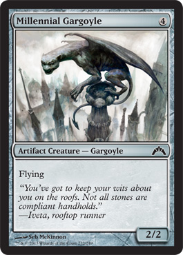 Millennial Gargoyle | Magic: The Gathering Card