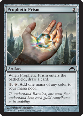 Prophetic Prism | Magic: The Gathering Card