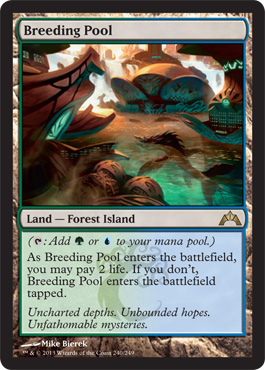 Breeding Pool | Magic: The Gathering Card