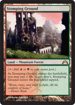 Stomping Ground | Magic: The Gathering Card