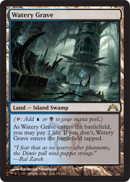 Watery Grave | Magic: The Gathering Card