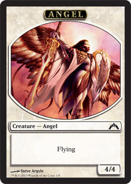 Angel Token | Magic: The Gathering Card