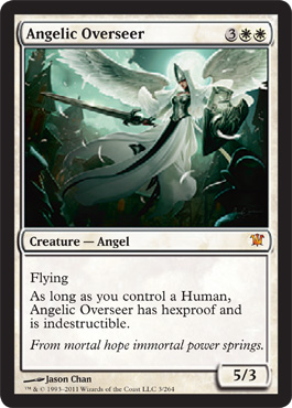 Angelic Overseer | Magic: The Gathering Card
