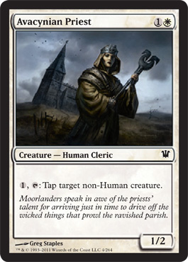Avacynian Priest | Magic: The Gathering Card