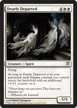 Dearly Departed | Magic: The Gathering Card