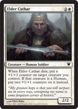 Elder Cathar | Magic: The Gathering Card