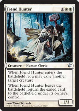 Fiend Hunter | Magic: The Gathering Card