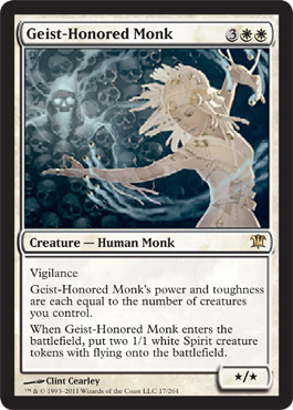 MTG 1x MIKAEUS Innistrad *Myth Human Cleric NM* THE LUNARCH