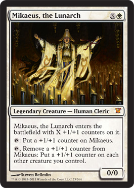 Mikaeus, the Lunarch | Magic: The Gathering Card