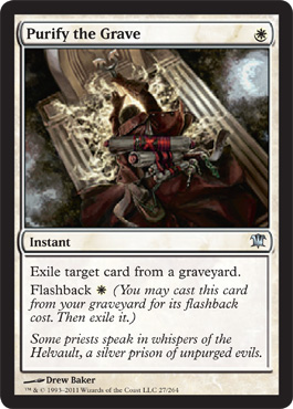 Purify the Grave | Magic: The Gathering Card