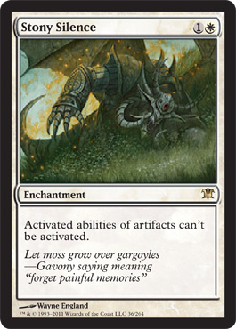 Stony Silence | Innistrad | Magic: The Gathering at ... Planeswalker Activated Ability