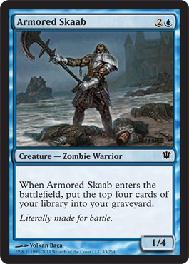 Armored Skaab | Magic: The Gathering Card