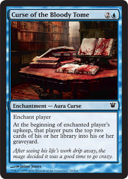 Curse of the Bloody Tome | Magic: The Gathering Card