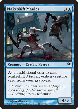 Makeshift Mauler | Magic: The Gathering Card
