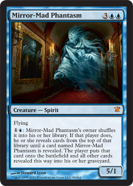 Mirror-Mad Phantasm | Magic: The Gathering Card