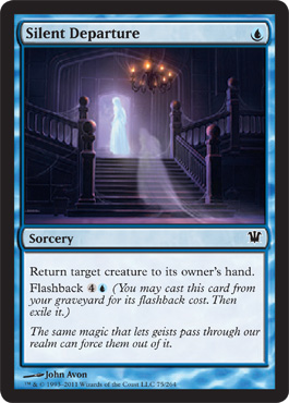 Silent Departure | Magic: The Gathering Card