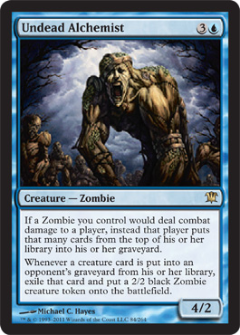 Undead Alchemist | Magic: The Gathering Card