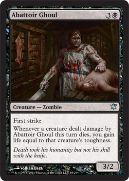 Abattoir Ghoul | Magic: The Gathering Card