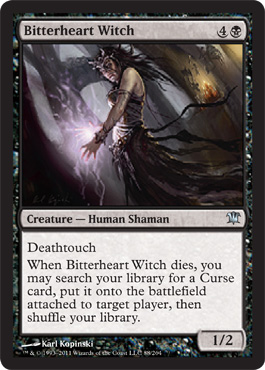 Bitterheart Witch | Magic: The Gathering Card