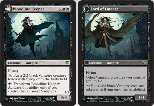 Bloodline Keeper / Lord of Lineage | Magic: The Gathering Card