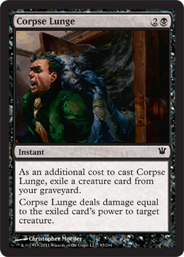 Corpse Lunge | Magic: The Gathering Card