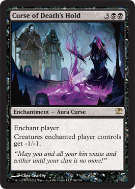 Curse of Death's Hold | Magic: The Gathering Card