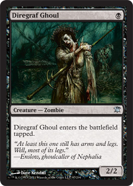 Diregraf Ghoul | Magic: The Gathering Card