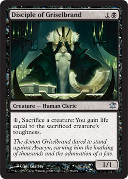 Disciple of Griselbrand | Magic: The Gathering Card