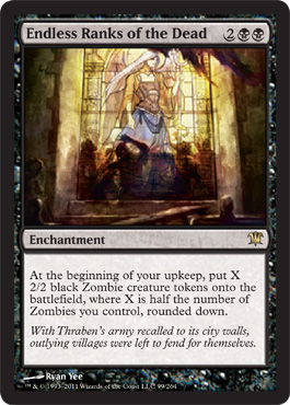 Endless Ranks of the Dead | Magic: The Gathering Card
