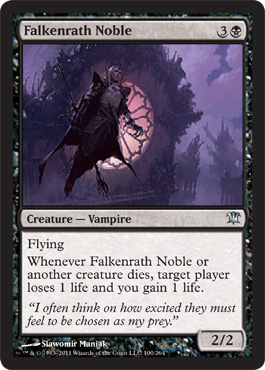 Falkenrath Noble | Magic: The Gathering Card