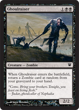 Ghoulraiser | Magic: The Gathering Card