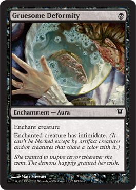 Gruesome Deformity | Magic: The Gathering Card