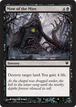 Maw of the Mire | Magic: The Gathering Card