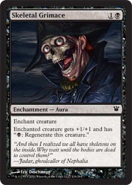 Skeletal Grimace | Magic: The Gathering Card