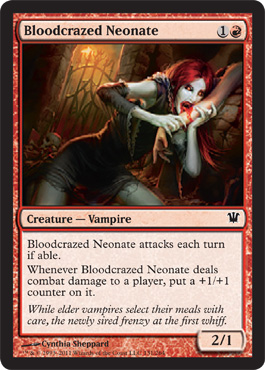 Bloodcrazed Neonate | Magic: The Gathering Card