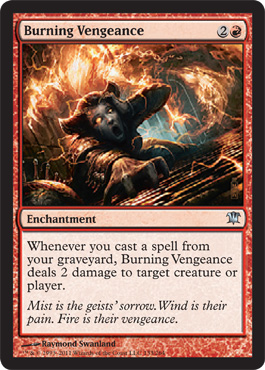 Burning Vengeance | Magic: The Gathering Card