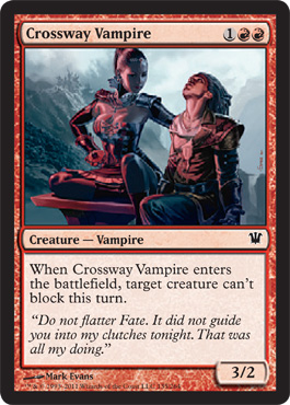 Crossway Vampire | Magic: The Gathering Card