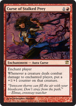 Curse of Stalked Prey | Magic: The Gathering Card