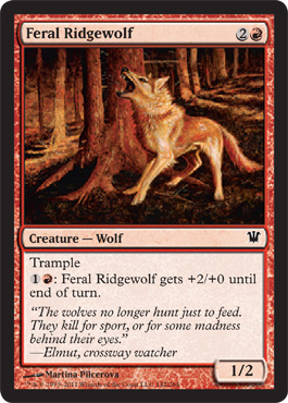 Feral Ridgewolf | Magic: The Gathering Card