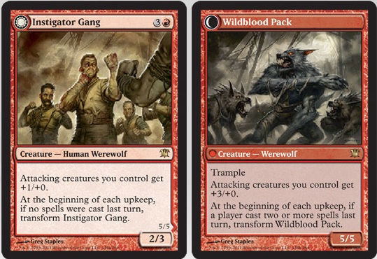 Instigator Gang / Wildblood Pack | Magic: The Gathering Card