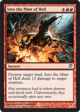 Into the Maw of Hell | Magic: The Gathering Card