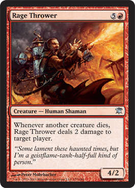 Rage Thrower | Magic: The Gathering Card
